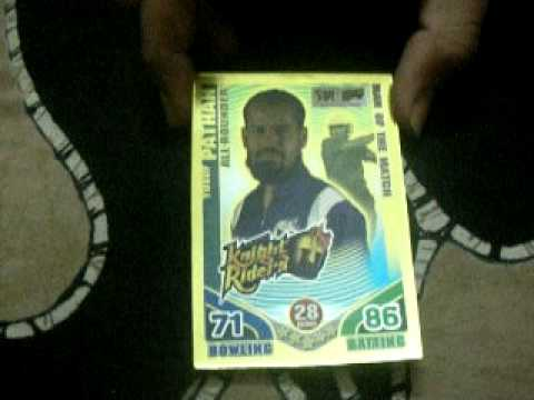 Cricket Attax Cards Gold Cards of Cricket Attax