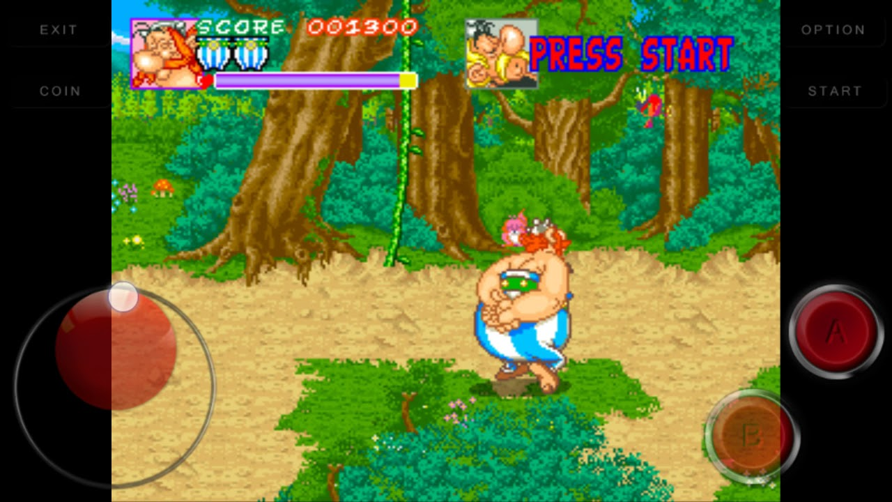 Game dingdong mame for android (asterix) - YouTube