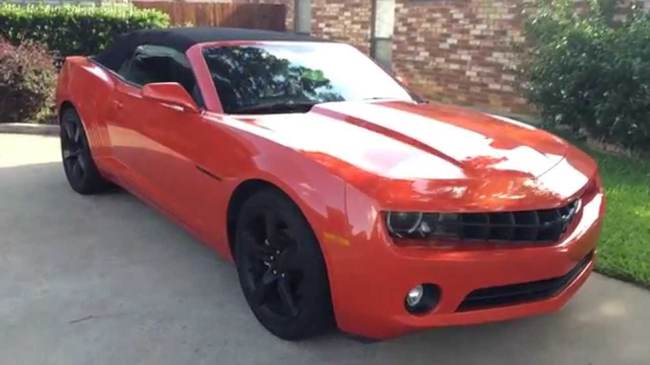 Camaro Rs Lt Convertible Review Features