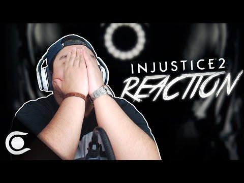 Injustice 2 - The Lines Are Redrawn Reaction (Reacción) - DC/WB GAMES - JARDHD