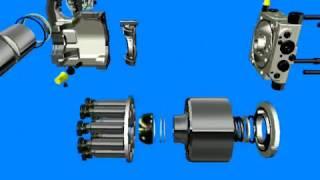 Порядок разборки гидронасоса A4VG Bosch Rexroth.Выполняем ремонт данных гидронасосов 067-693-31-07(, 2017-03-04T17:28:56.000Z)