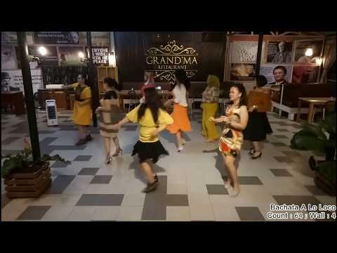 BACHATA A LO LOCO line dance - Easy Intermediate