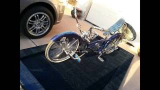 lowrider bike Build up