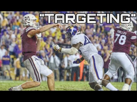 2018 College Football Targeting Ejections