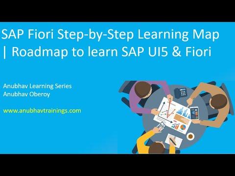 Fiori Training with SAP WebIDE | Fiori Tutorial | Fiori Learning Map