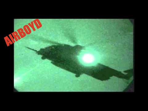 Pave Low Night Live Fire Exercise