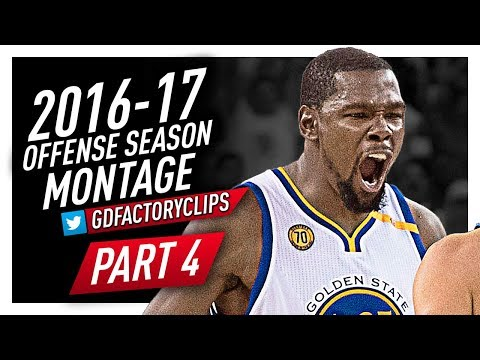 Kevin Durant INSANE Offense Highlights Montage 2016/2017 (Part 4) - Best Player Today?