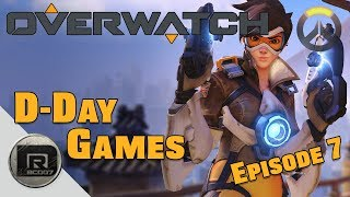 Overwatch   Tracer & Roadhog Game-play   D-Day Games (Overwatch) Episode #7