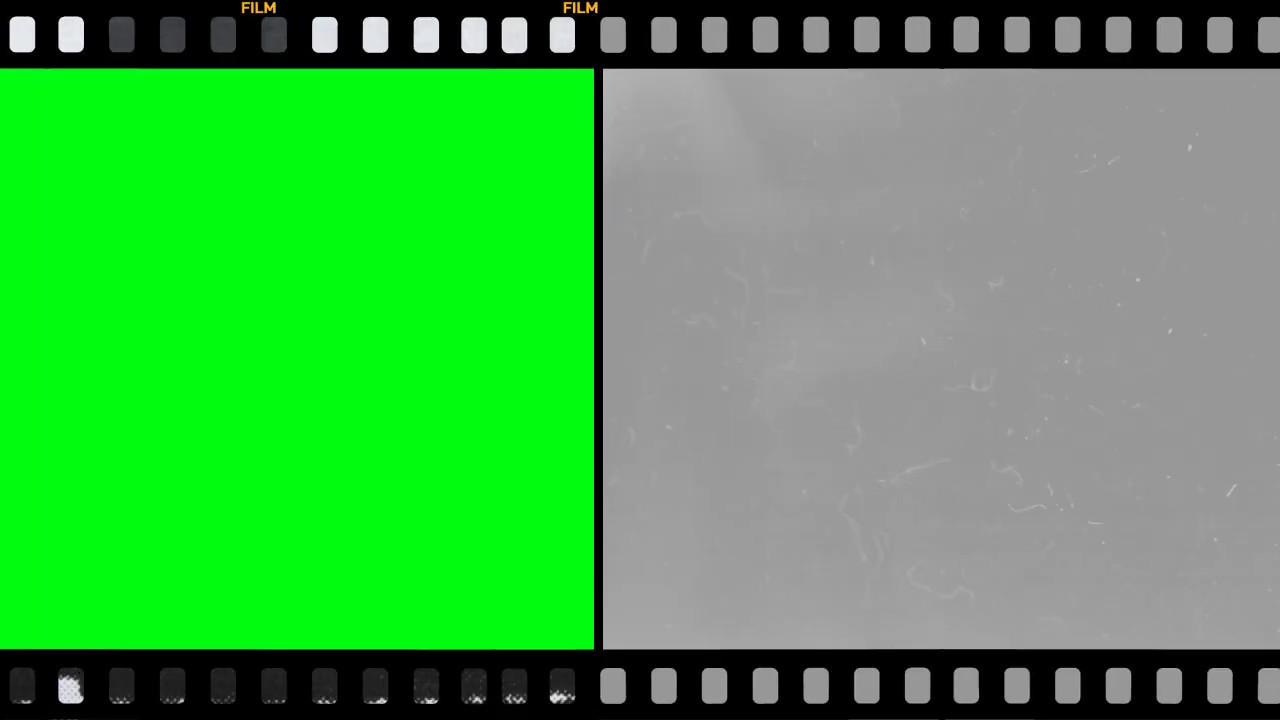 Film project green screen templates