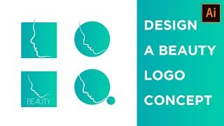 Design Process  : Design a Beauty Salon Logo Concept