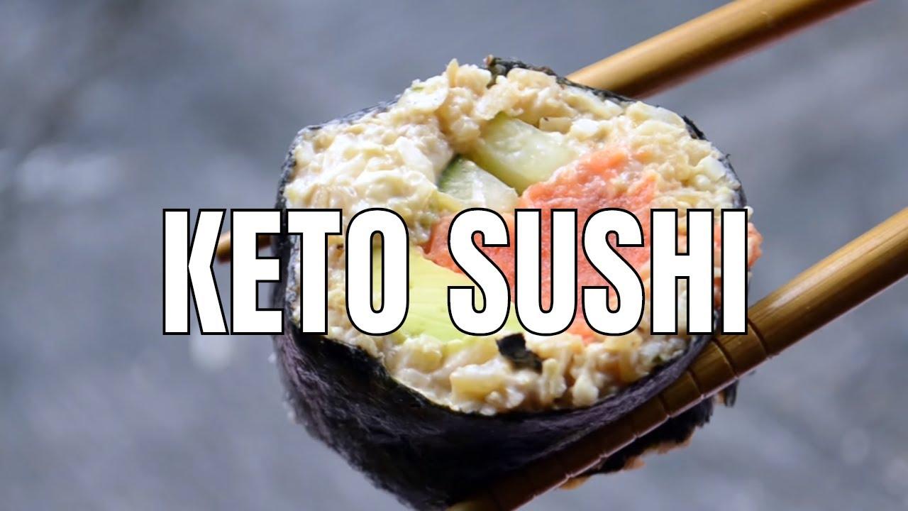 Keto Recipe Sushi Rolls Youtube