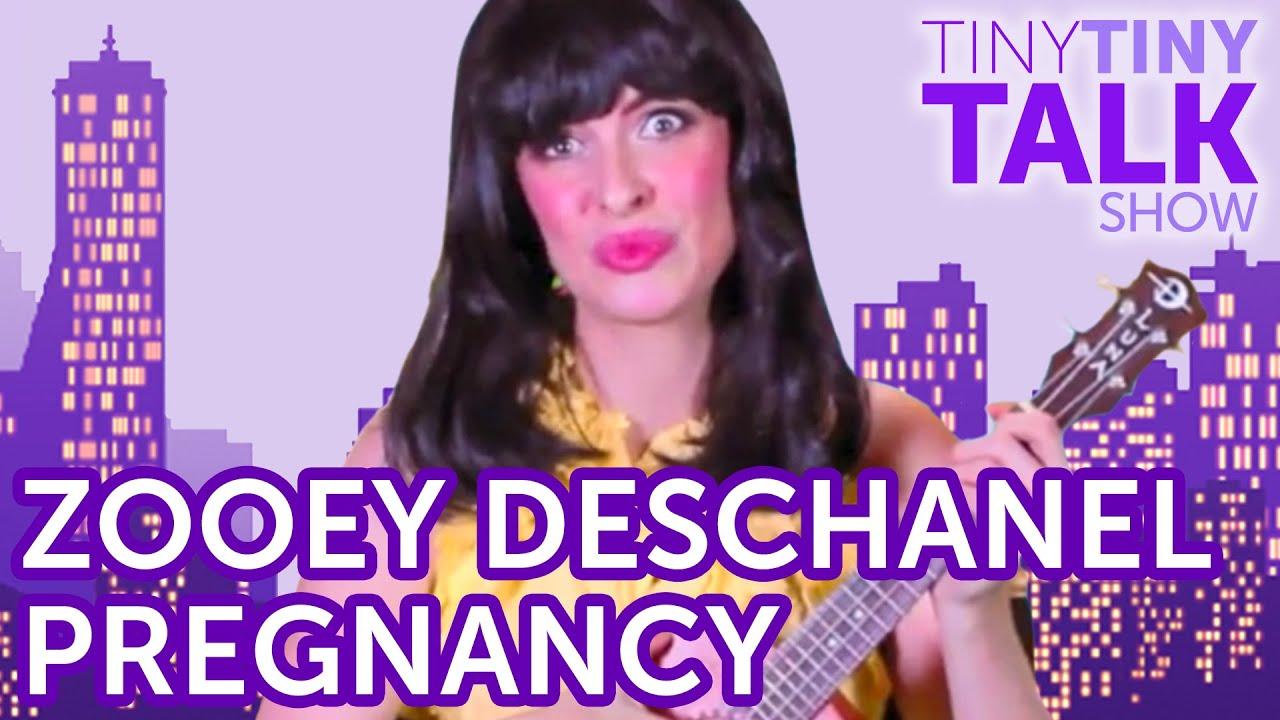Zooey Deschanel Announces Her Pregnancy on Keek - YouTube