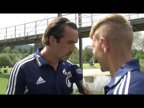 Lewis Holtby Interview with Christian Fuchs
