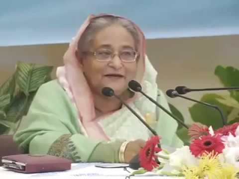 prime minister shekh Hasina talking about chandpur with her childhood experience