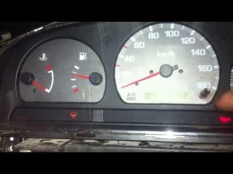 Nissan d22 tacho diagnosis mode fault  pick up frontier