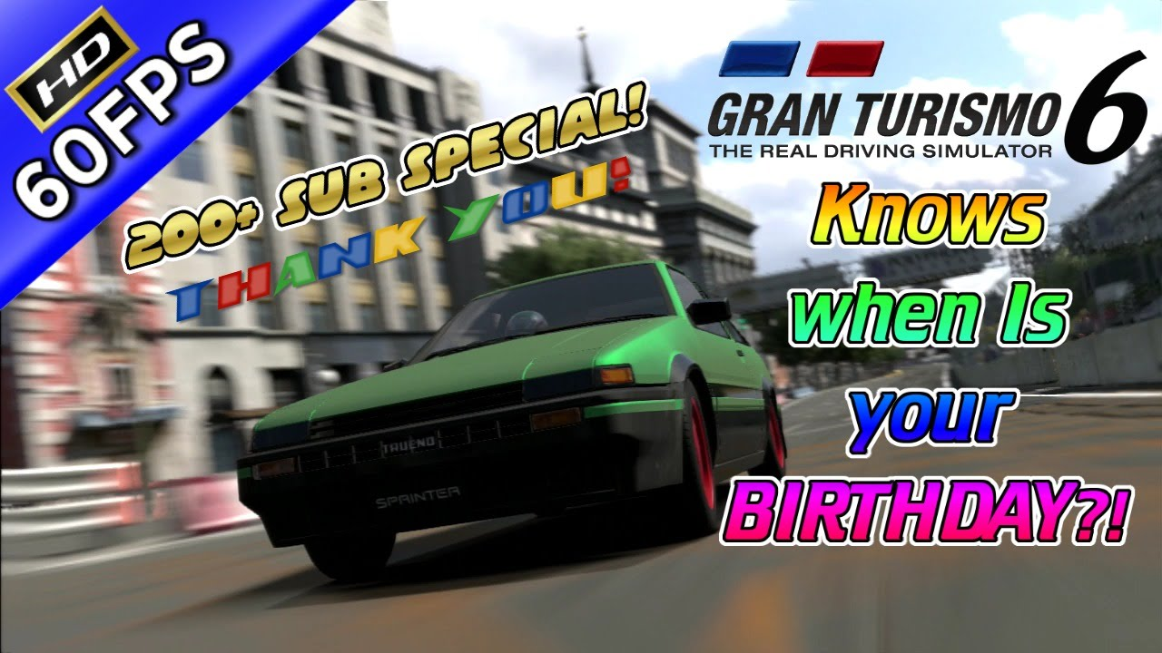 Circuito De Madrid Gran Turismo 5 : Gran turismo knows when is your birthday special lap