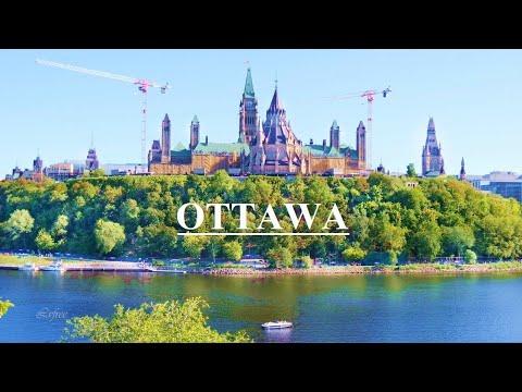 OTTAWA Ontario Canada Travel 2021 4k