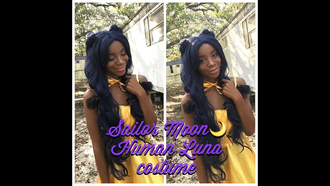 Sailor Moon Human Luna Cosplay Youtube