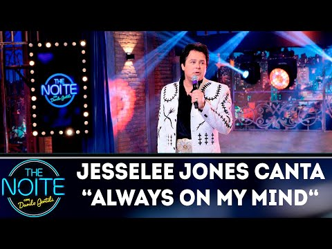 Jesse Lee Jones canta Always On My Mind | The Noite (14/09/18)