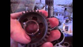 настройка - збірка коробки передач двигуна, копії minarelli am6 від мопеда stels trigger