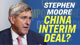 American Thought Leaders Stephen Moore: How the 2020 Election Impacts US China Trade War [Eagle Coun