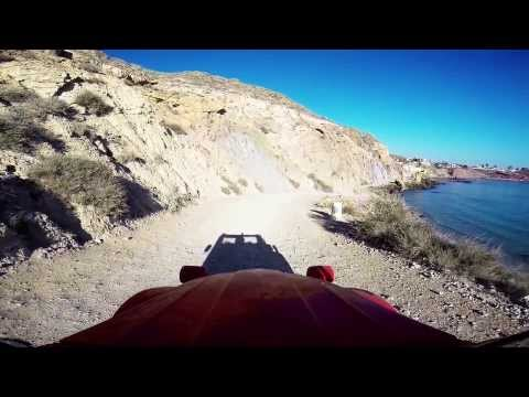 Bolnuevo / Murcia Paradise On The Road With My 2CV [ GoPro ]