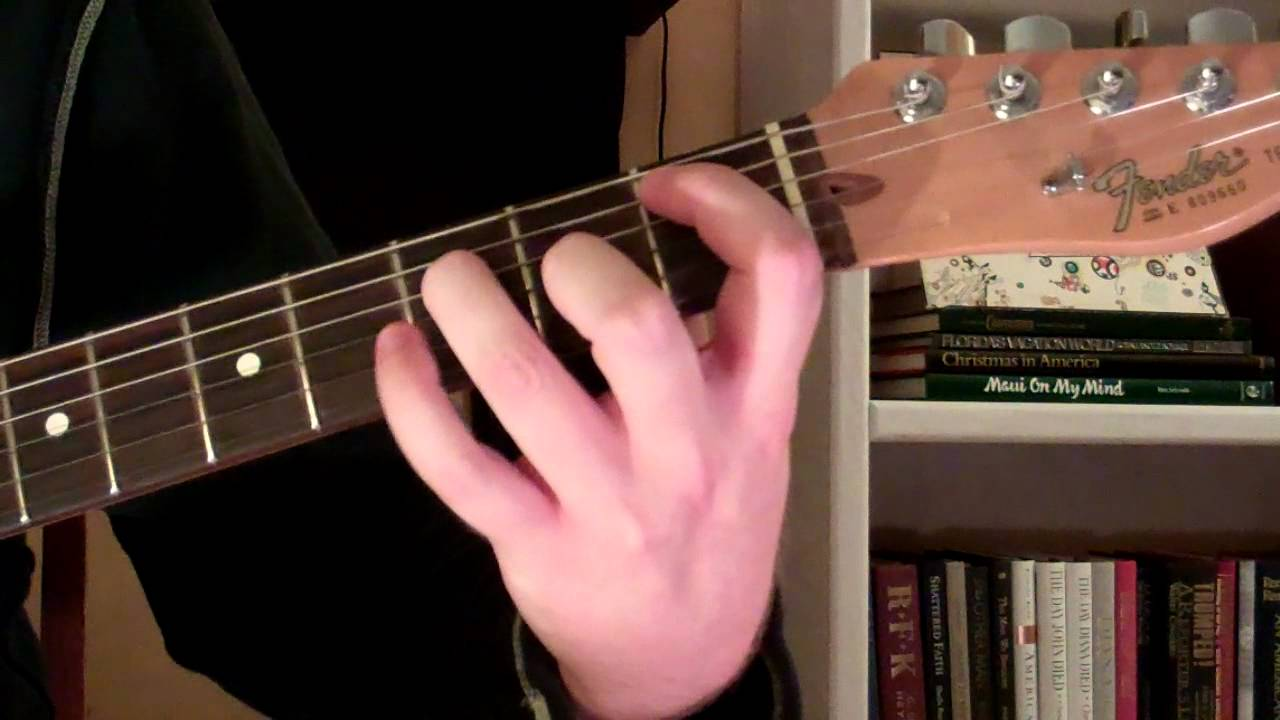 How To Play The Bbm6 Chord On Guitar B Flat Minor Sixth 6th Youtube