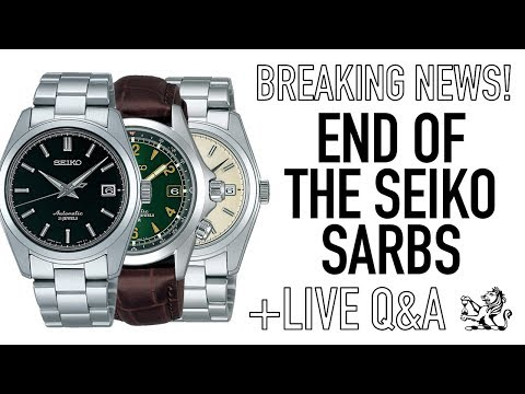 Building An Amazing Watch Collection Under $1000 - End Of The Seiko SARB033 & SARB17 + Live Q&A