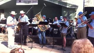 Stamp Mill Stompers playing at the Nevada County Fair in California 2014