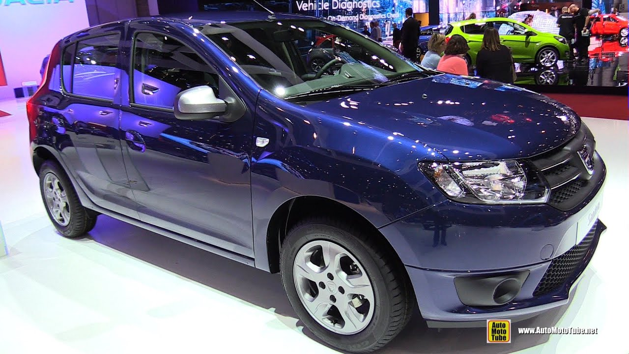 2015 dacia sandero exterior and interior walkaround for Dacia sandero interior