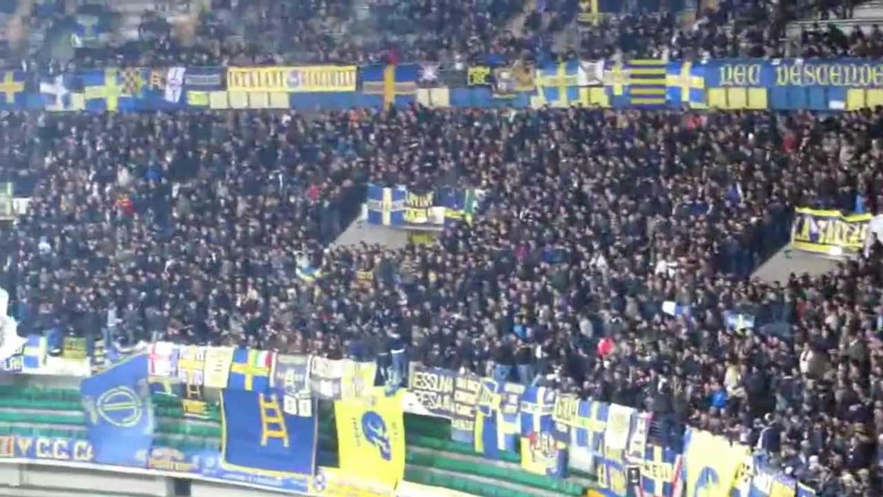 Hellas Verona 1 - 1 Livorno, 15/03/2013. Tifo curva sud ...