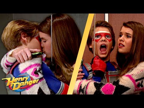 Kid Danger's Kisses Who In The Elevator?! 😘 | Henry Danger