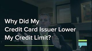 Raising limit on credit card