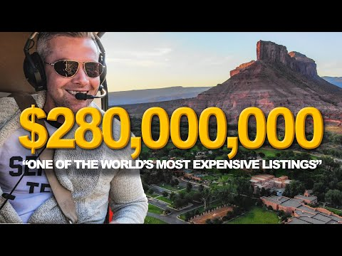 Touring a MASSIVE $280 Million Colorado Mansion | Ryan Serhant Vlog #85