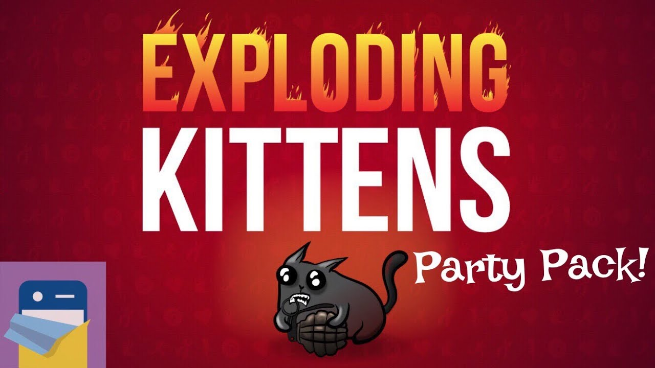 Exploding Kittens: Party Pack Expansion iOS iPad Air 2 Gameplay (The  Oatmeal)