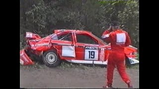 WRC HISTORY: Rally Finland 2001 SS21 Ouninpohja