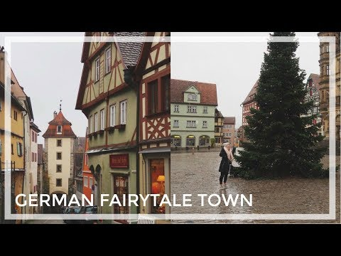 ROTHENBURG OB DER TAUBER, GERMANY | Travel Vlog