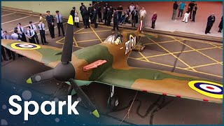 James May Reveals The Lifesize Airfix Spitfire | James May