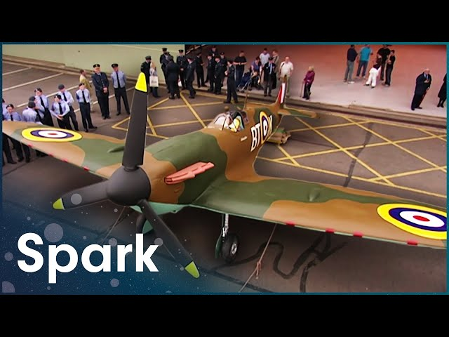Revealing The Airfix Spitfire | James May's Toy Stories | Spark