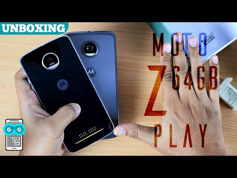 Tinggal 3-jutaan! Unboxing Moto Z Play versi 64 GB (side by side with Moto Z2 Play)