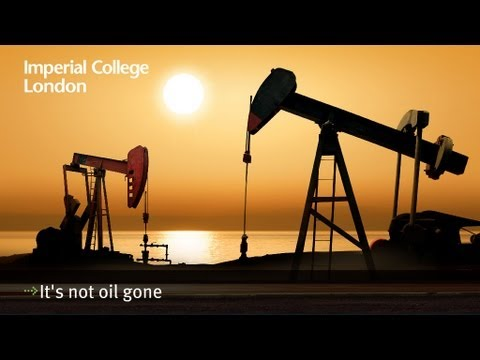 It's not oil gone