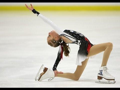 Mikayla Chapman figure skating to