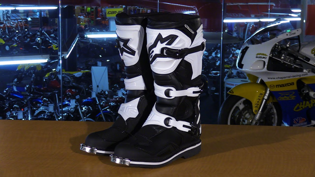 2b0a8031f3323b Alpinestars Tech 1 Motorcycle Boots Review - YouTube
