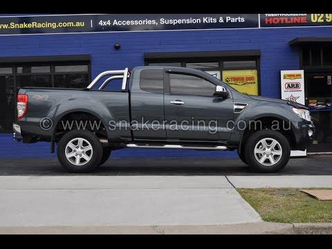 px ford ranger 40mm tough dog lift kit snake racing - Ford Ranger 2014 Lifted