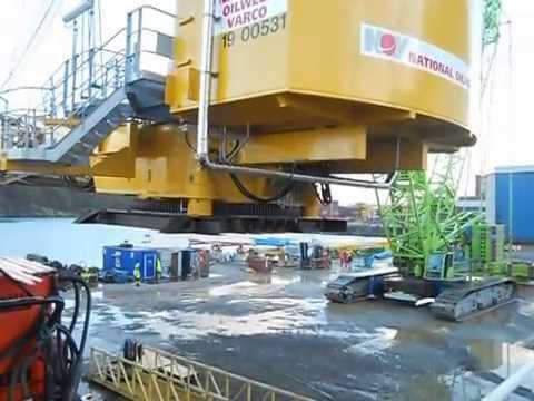 Crane transport for National Oilwell Varco