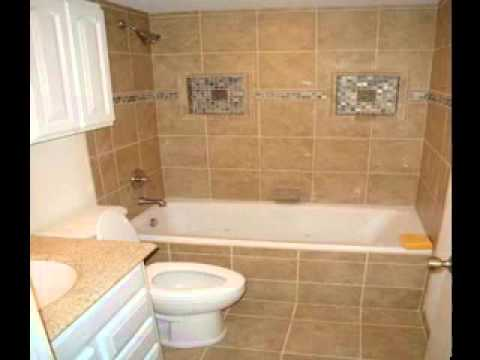 Small bathroom tile design ideas - YouTube