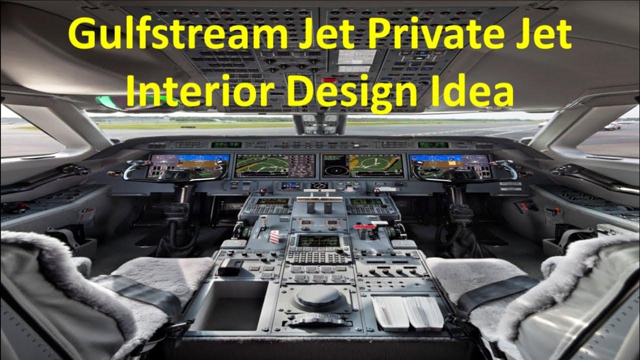 Gulfstream Jet Private Jet Interior Design Idea Youtube