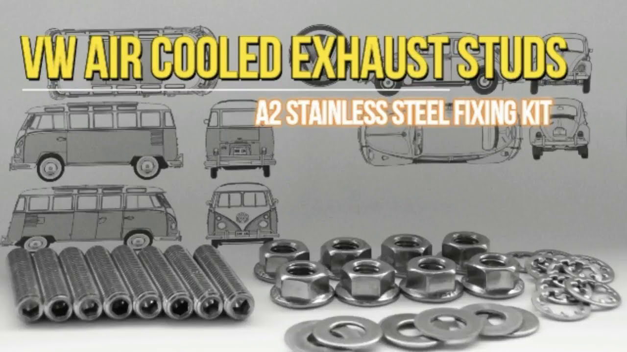 Unboxing Vw Aircooled Stainless Exhaust Stud Kit  Graham 01:12 HD