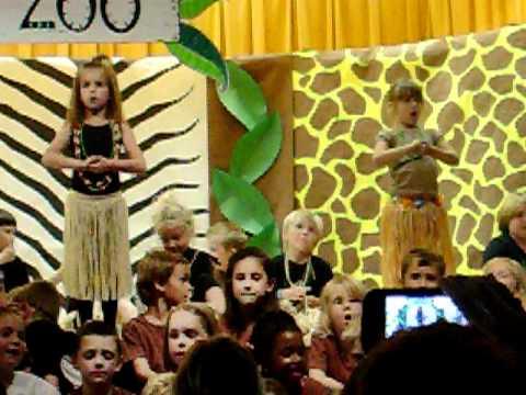 Aidans Kindergarten Zoo production