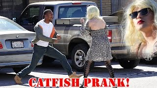 Tinder Bait Prank #1 - The Catfish!